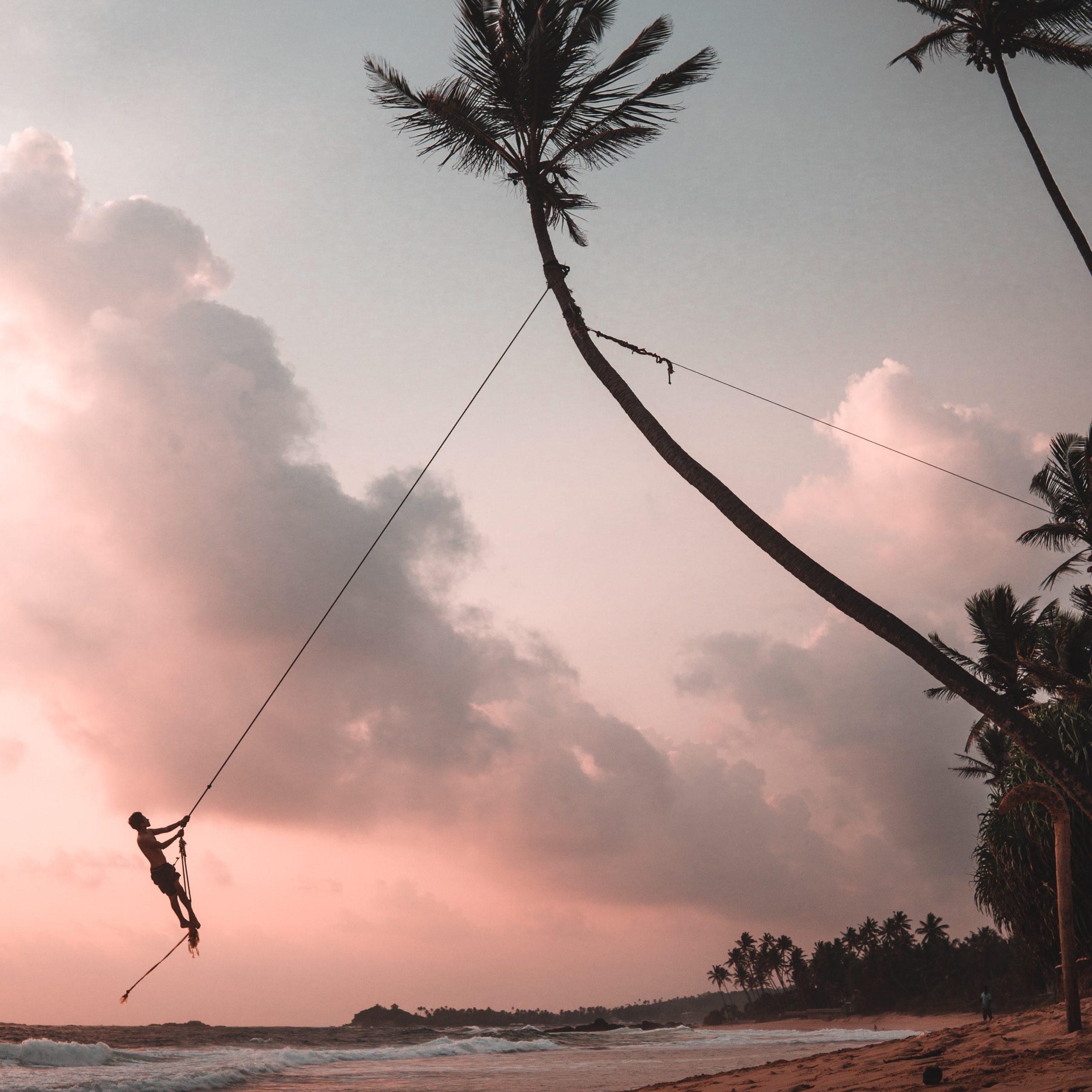 Dalawella Beach swing - unawatuna sri lanka