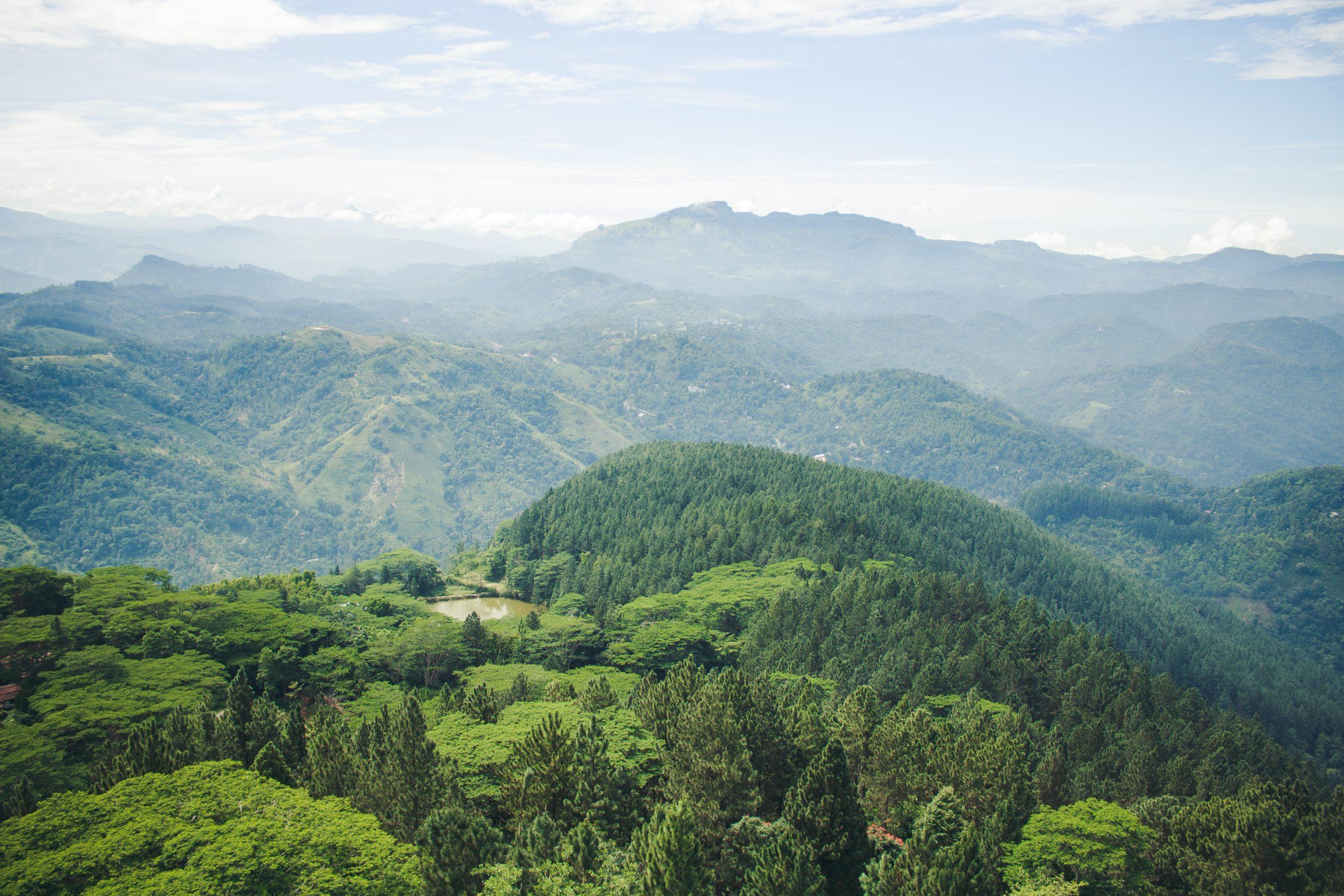 hiking in sri lanka