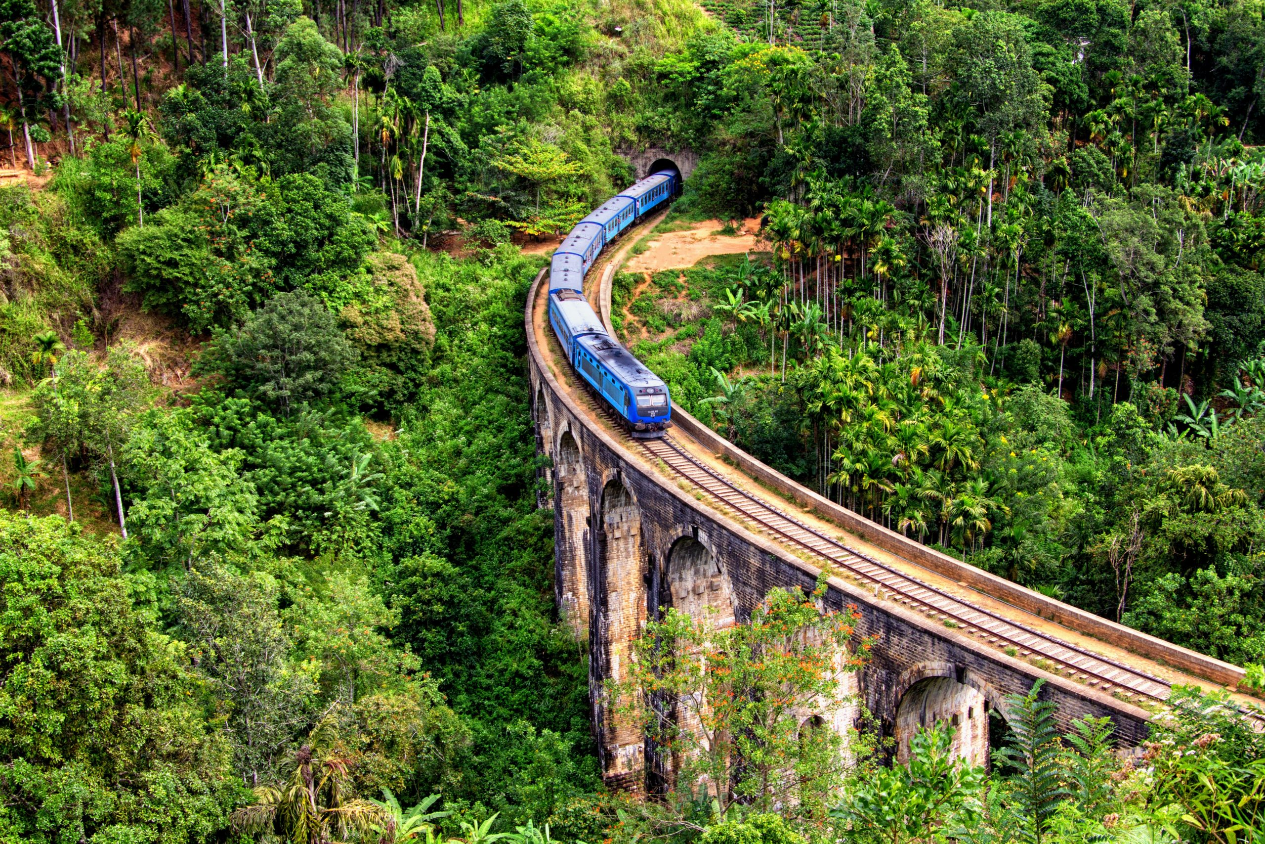 Best places to visit in Sri Lanka - Travelling by train in Sri Lanka from Kandy to Ella
